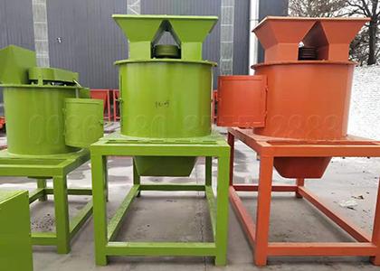 Manure fertilizer pulverizing equipment